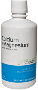 Calcium and Magnesium plus D 3 bottle
